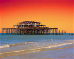 'Sunset' Pier, Brighton