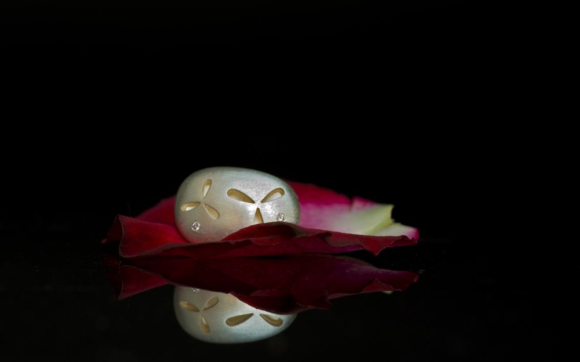 Rose and Earring 2