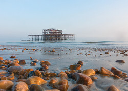 2MM BLEED  West Pier and  Beach Pebbles.