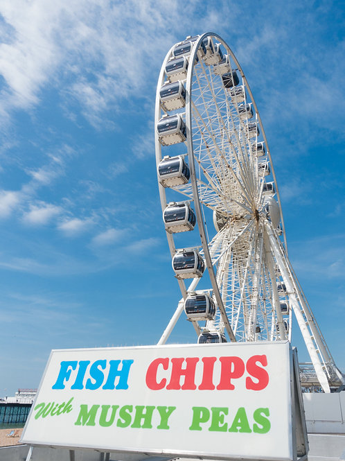 The Brighton Wheel (with Fish, Chips and Peas)