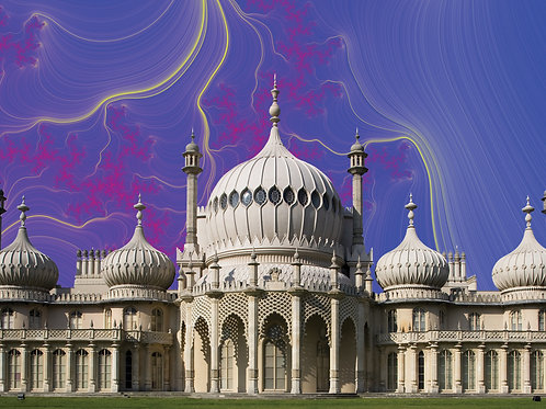 Psychedelic Pavilion #4, Brighton