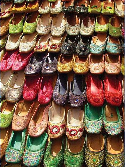 Market Shoes, Goa, India