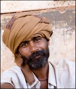 Street Man, Margao, Goa, India