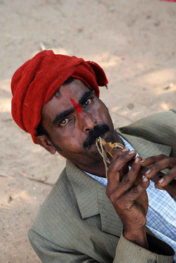 Snake Charmer - Anjuna, Goa