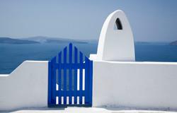 Greek Gate and Chimney