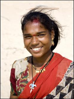 Street Woman, Margao, Goa, India