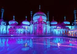 Brighton Pavilion with Ice Rink