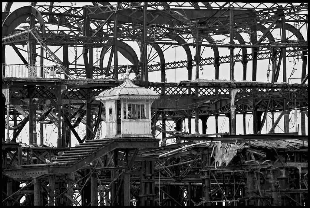 West Pier Kiosk, Brighton, 2005