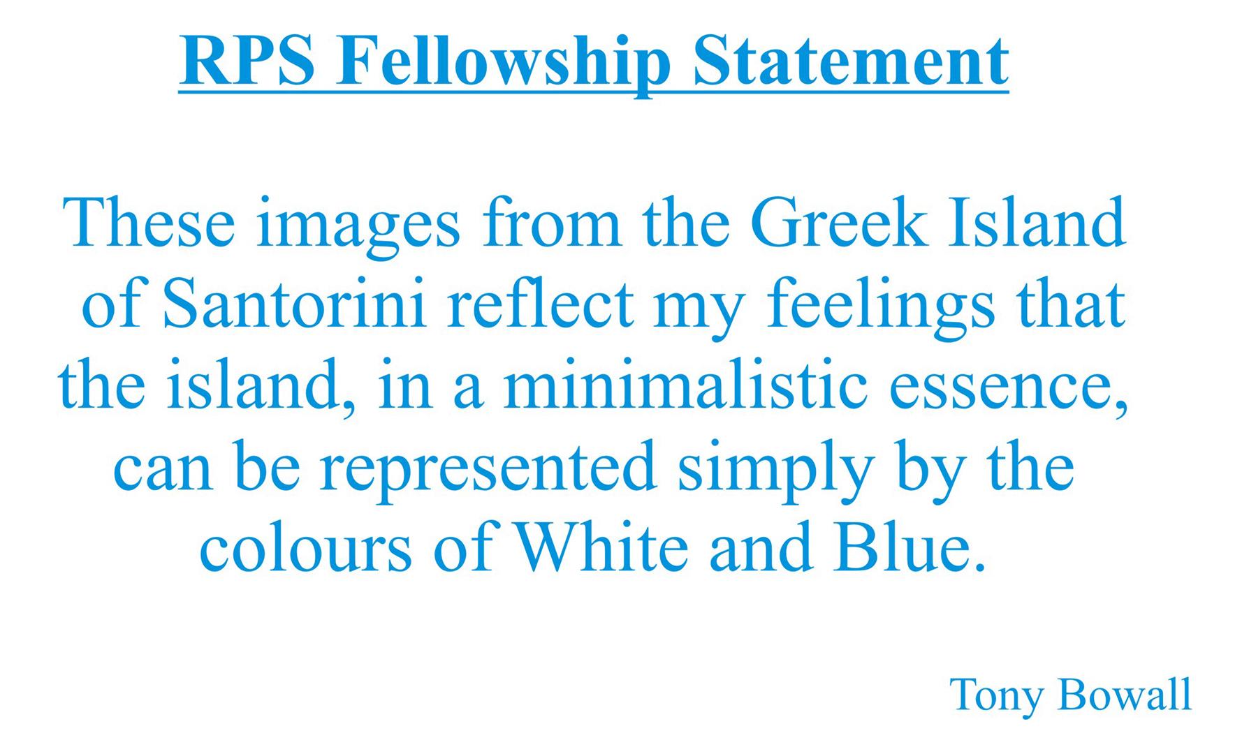 Fellowship Panel Statement
