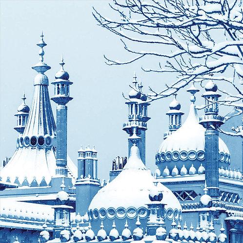 Blue Pavilion, Brighton - Square Card