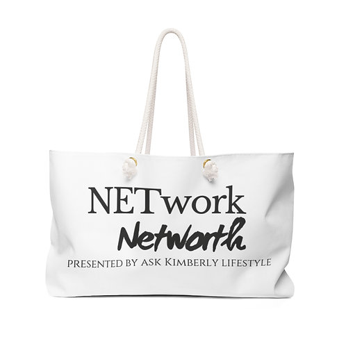 AKL NETwork-Networth Weekend Tote