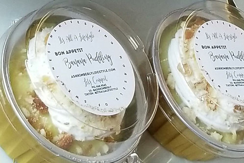 BON APPETIT at HOME Banana Pudding (TRIO JARS)