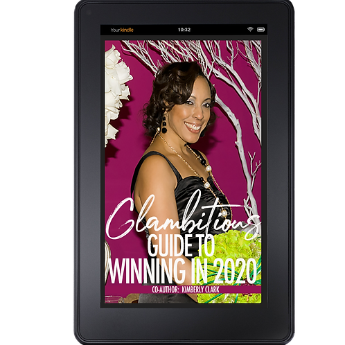 E-BOOK COPY GLAMBITIOUS GUIDE TO WINNING IN 2020- CO-AUTHOR, KIMBERLY CLARK