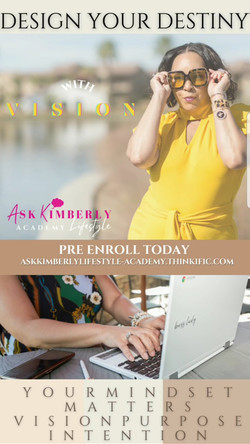 DESIGN YOUR DESTINY WITH VISION COURSE
