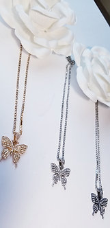 Butterfly Royalty (Bling) Tennis Necklace