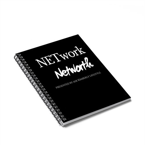 NETwork-Networth Presented By Ask Kimberly Lifestyle Spiral Notebook