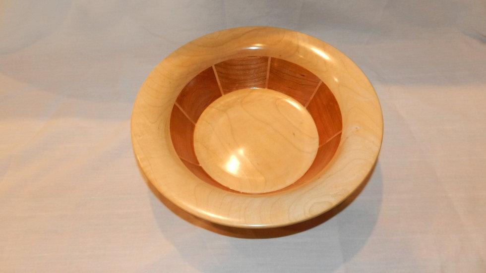 Cherry Segmented Bowl