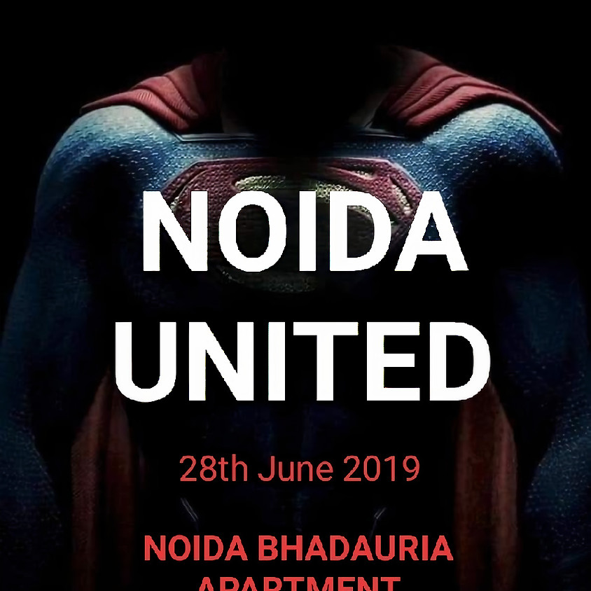 Noida united burst std