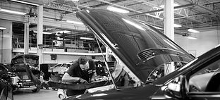 Auto Body Shop, Repair Facility, Vehicle Assembly, Technician, Bumper, Hood, Fender, Mirror, Grille, Grill, Door