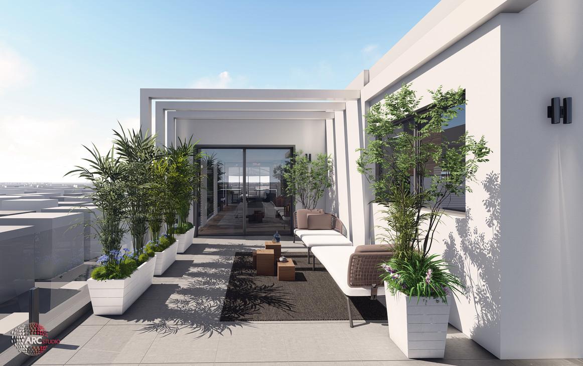 GLIL YAM - terrace 2