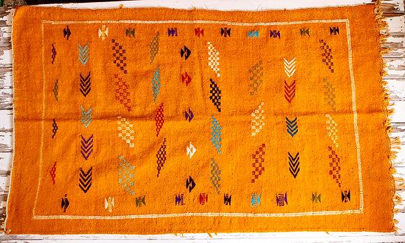 Alfombra amarilla Klimt