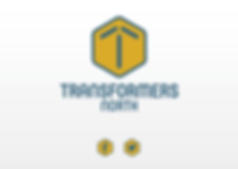 Logo design by Platform 74 for Transformers North