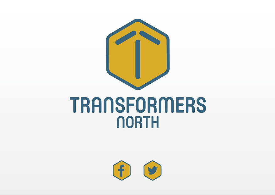 Logo design by Platform 74 for Transformers North