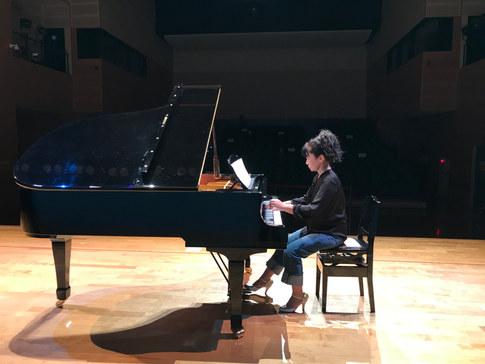 自分の思うピアノを♪