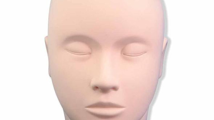 Mannequin Doll Training Head