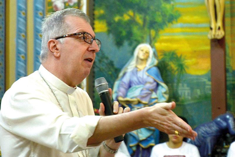 Dom Milton Kenan Júnior vai celebrar oito anos  de ordenação episcopal (Foto: Aquino José)