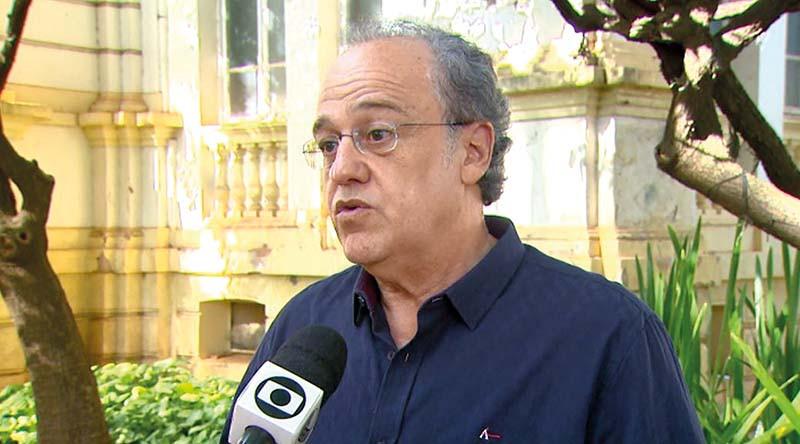O conselheiro do Tribunal de Contas do Estado de São Paulo, Dimas Ramalho (Foto: Paulo Souza/EPTV/Arquivo)