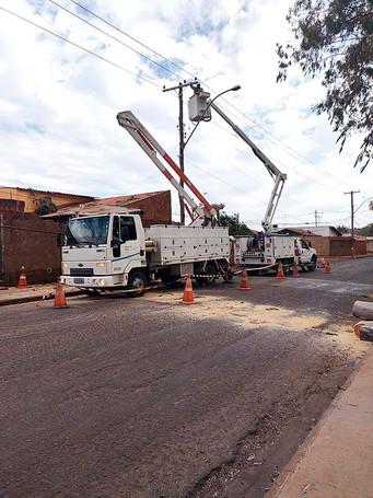 Queimada faz SAAE adiar manutenção do poço profundo da Assis Chateaubriand