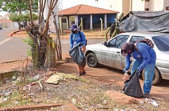 Prefeitura faz Arrastão de Limpeza em três bairros nesta sexta-feira