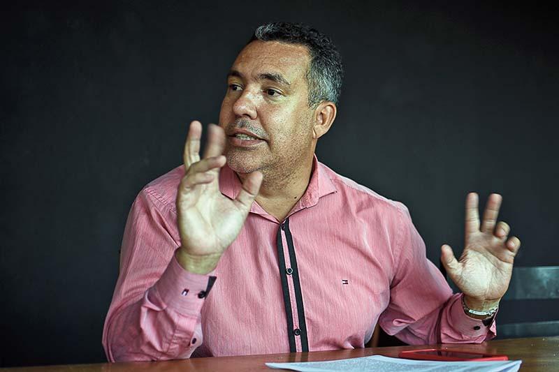 Noel Santos vê enfraquecimento da atuação dos sindicatos. (Foto: Aquino José/ Seven Press)