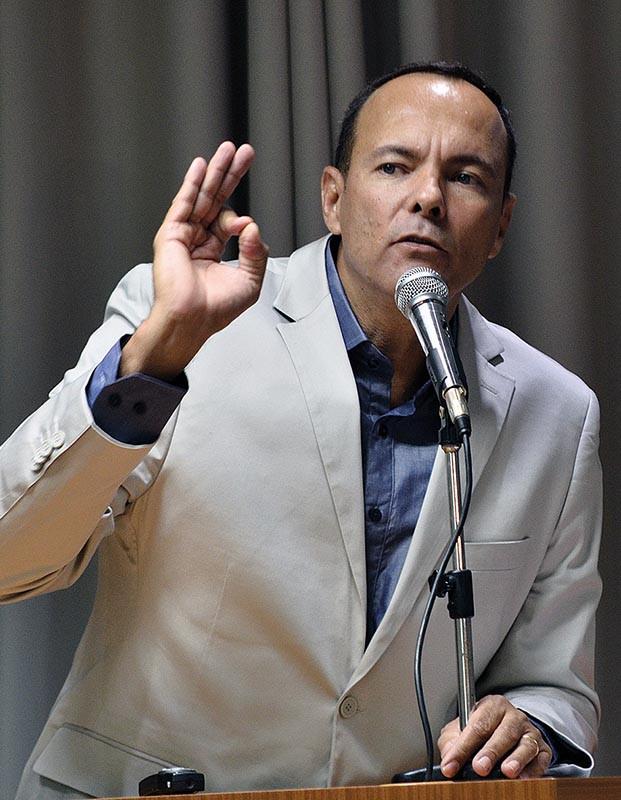 Carlão está confiante em sua candidatura. (Foto: Aquino José)