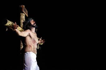 """Espetáculo """"A Paixão de Cristo 2019"""" será realizado nesta  sexta-feira"""