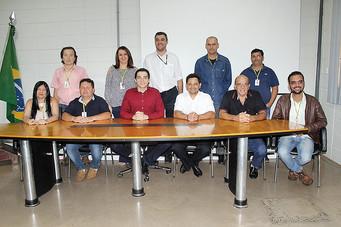 Novos membros da CIPA da prefeitura tomam posse e elegem presidente