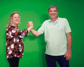 PSL confirma nomes dos médicos Munir Daher e Elisa Coutinho