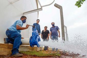SAAE trabalha para acabar com problemas no abastecimento de água na cidade
