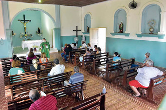 Fim de semana tem missas nas comunidades católicas rurais