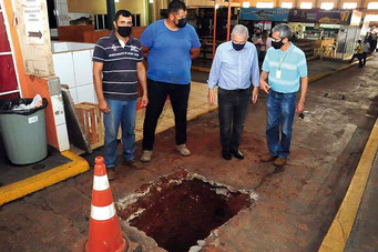 Prefeitura inicia revitalização do Mercadão Municipal
