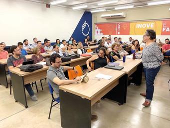 Novo modelo acadêmico é tema de  reunião da equipe docente do UNIFEB