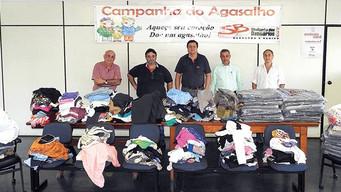 Doações da Campanha do Agasalho foram entregues a entidades assistenciais