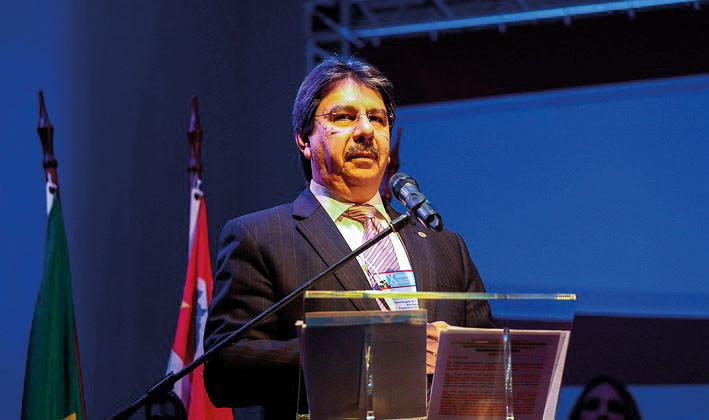 Desembargador Fernando da Silva Borges  é esperado na inauguração na próxima sexta-feira.  (Foto: Luiz Manoel Guimarães)