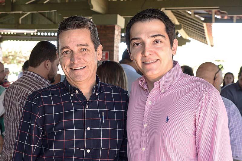 O pecuarista José de Jesus Faria e o prefeito Guilherme Ávila abrem a 50ª ExpoAgro e reinauguram o Recinto Paulo de Lima Correa