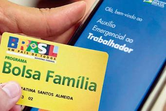 Famílias passarão a receber o Bolsa Família somado ao Auxílio Emergencial até dezembro