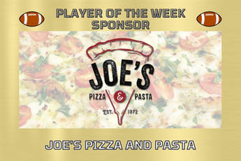 JOES PIZZA PLAYER OF THE WEEK SPONSOR