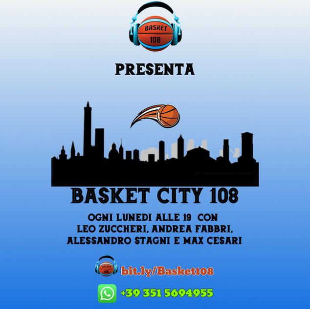 BASKET CITY 108