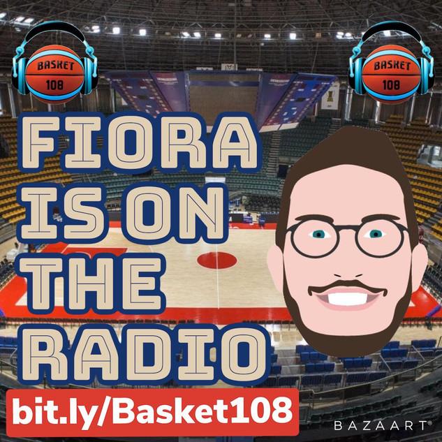 FIORA IS ON THE RADIO