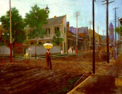 """THE TREME (A """"FAUBOURG"""" FOR FREE PEOPLE OF COLOR) 1800S"""